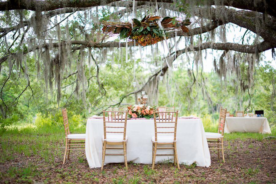 Southern Plantation Wedding Laytns Land N Florida Planner Fleur De Lis