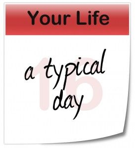 Describing a Typical Day Can Be an Extraordinary Tool  -Give loved ones insight into your life (or a relative's) by explaining a day in the life.... Writing Prompt #memories #memoir