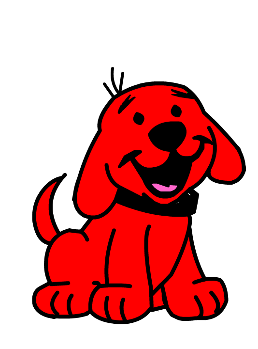clifford puppy days livedash clipart free clip art images oliwer rh pinterest ie dog bone clipart free dog clip art free downloads
