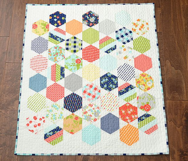 Juggle quilt pattern | Camille Roskelley - uses new honeycomb ... : honeycomb quilt pattern - Adamdwight.com