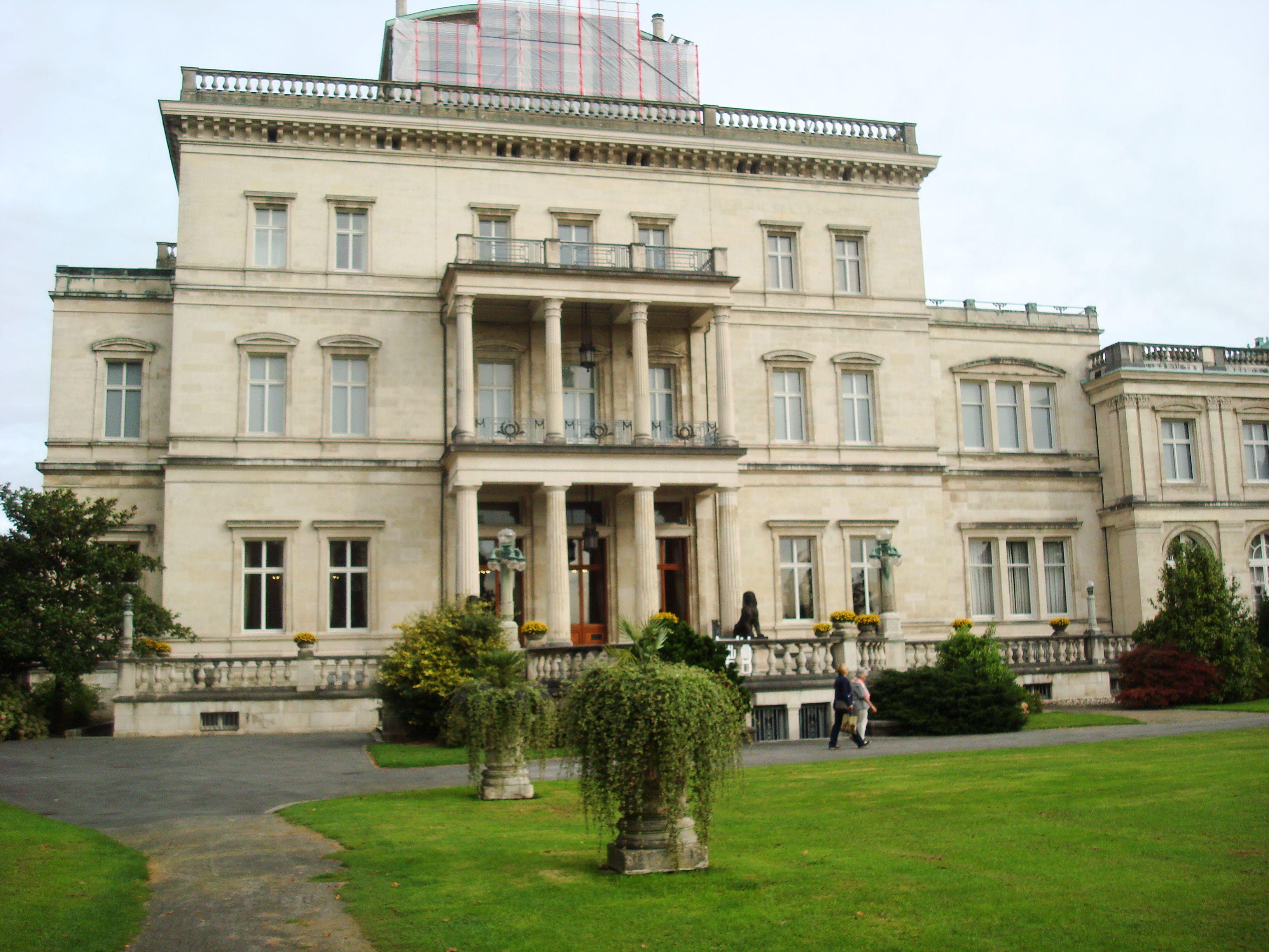 The Villa Hugel, Krupp Castle, Essen, Germany House