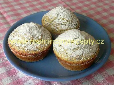 makové muffiny