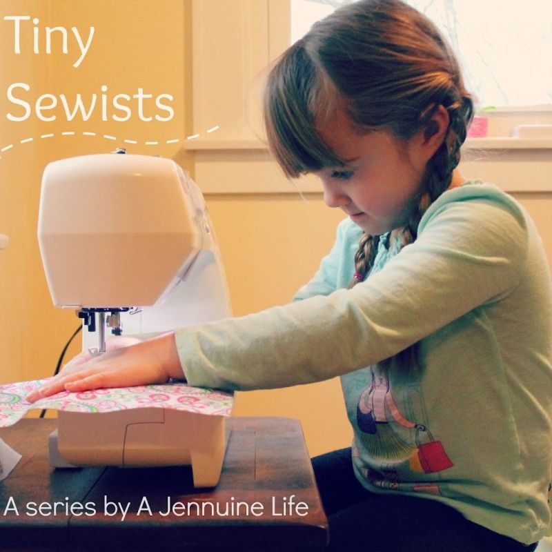 Tiny Sewists: Teaching Kids to Sew :: Lesson 6 - A Jennuine Life