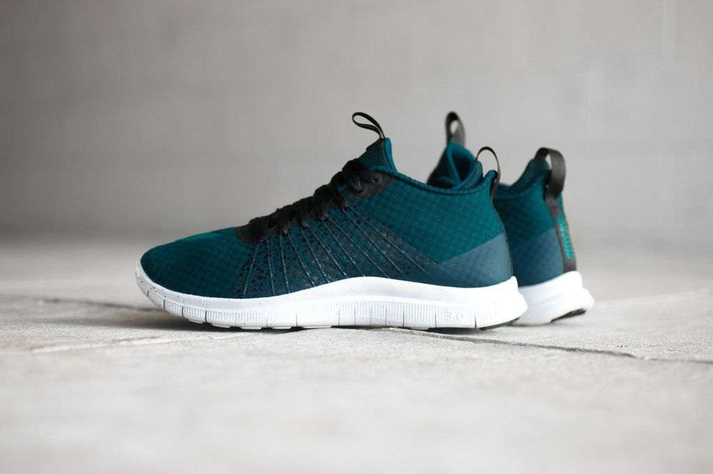 Midnight Turquoise Covers The Nike Free Hypervenom 2 FC