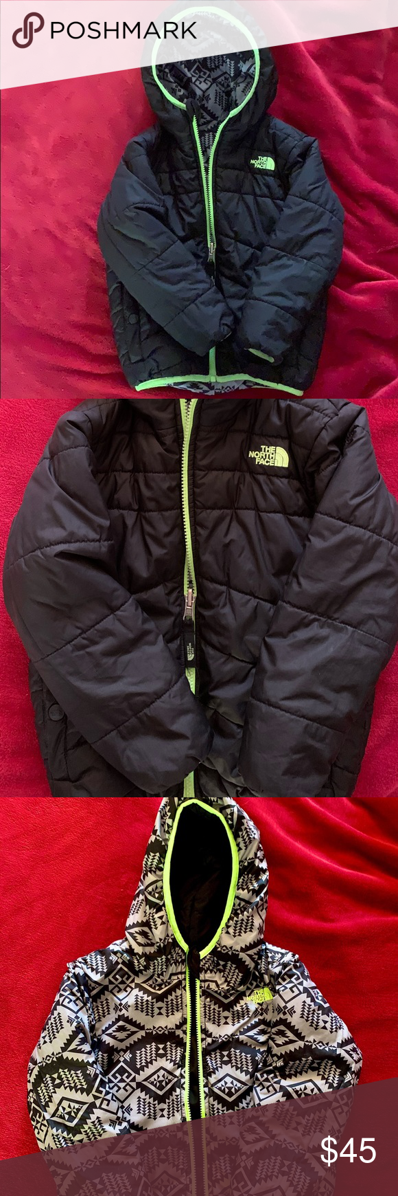 Northface Winter Coat Boys 4t North Face Winter Coat Boys Winter Coats Down Puffer Coat [ 1740 x 580 Pixel ]