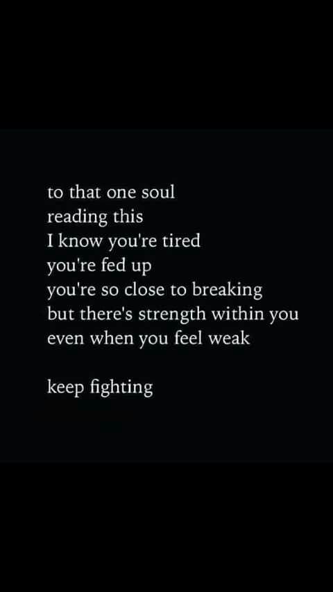 Keep Fighting Aaa Pinterest