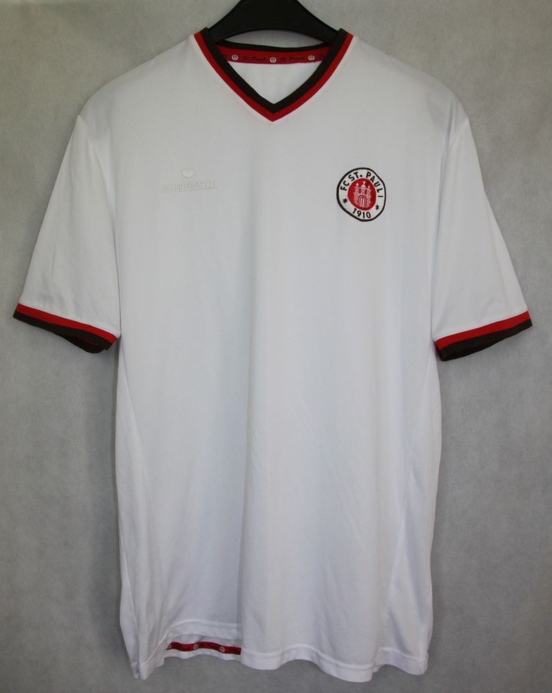 huge selection of e6e0b 6dd49 FC St Pauli Germany 2012 / 2013 Away Shirt Jersey White Size ...