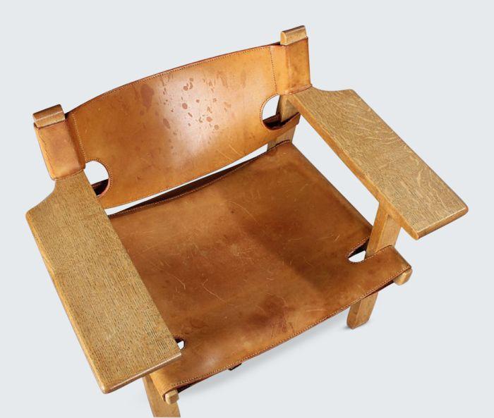 borge mogensen spanish chair inspiration pinterest vintage