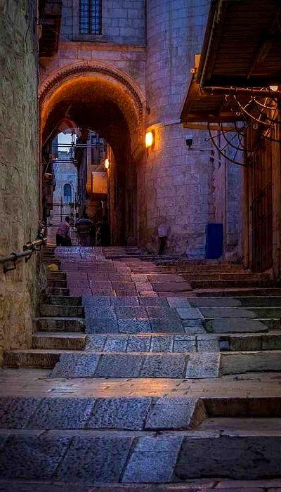 Old City of Jerusalem..!