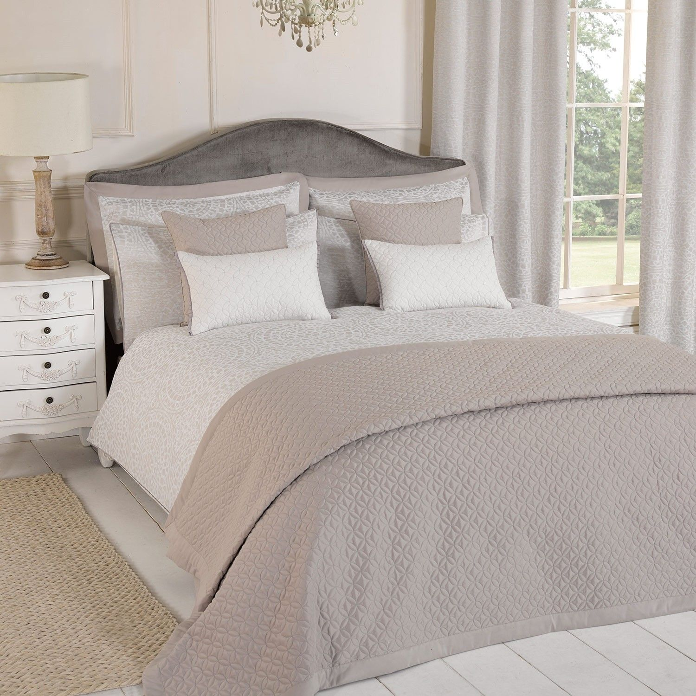 austin natural luxury jacquard duvet cover all bedding type