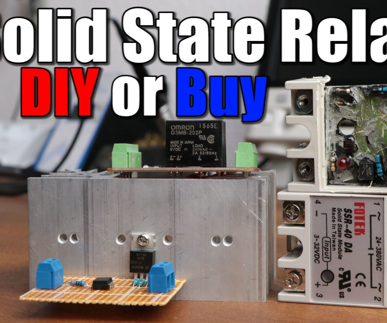 Make Your Own Solid State Relay Electronics Pinterest Circuit In This Project We Will Have A Look At Relays Find Out How They Work And When To Use Them The End Create Our Diy