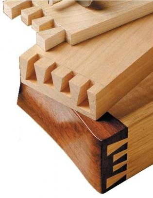 Hand-Cut Lapped Dovetails | WW-Woodworking joints ...