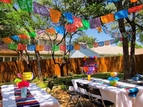 Fiesta Party Decorations San Antonio Planner Inspiredoccasionssa