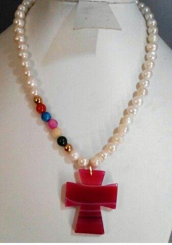 2377b10fd22a Collar en perlas