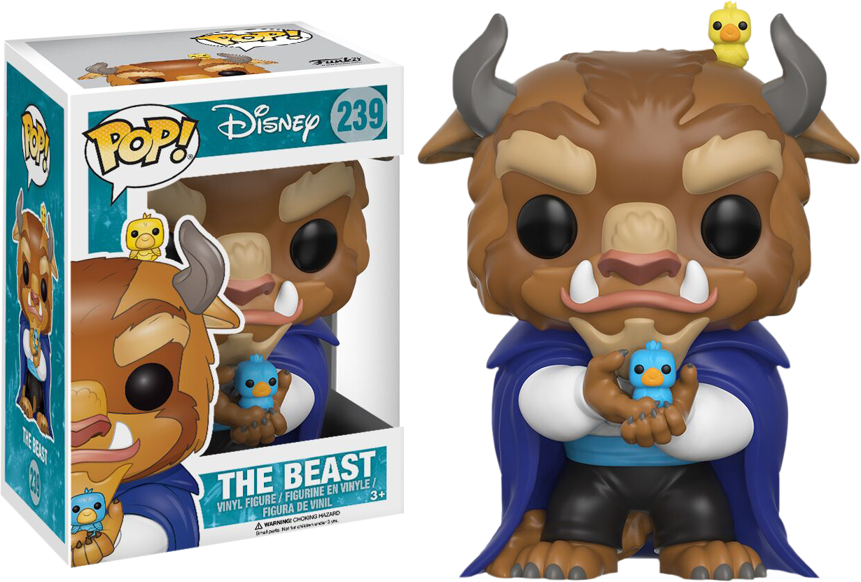 Winter Beast Pop! Vinyl Figure Beauty and the Beast