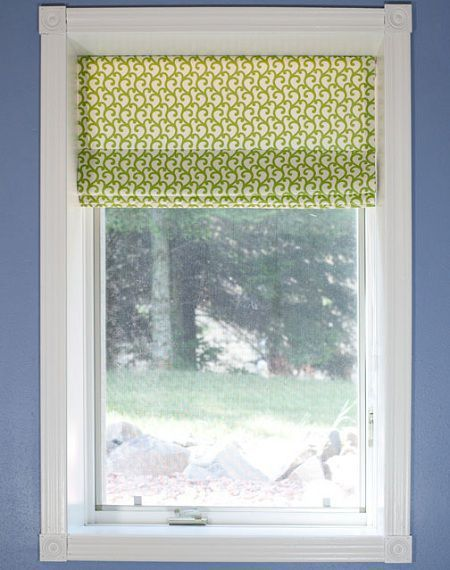Como hacer una cortina romana primaveral paso a paso - Hacer cortinas infantiles ...