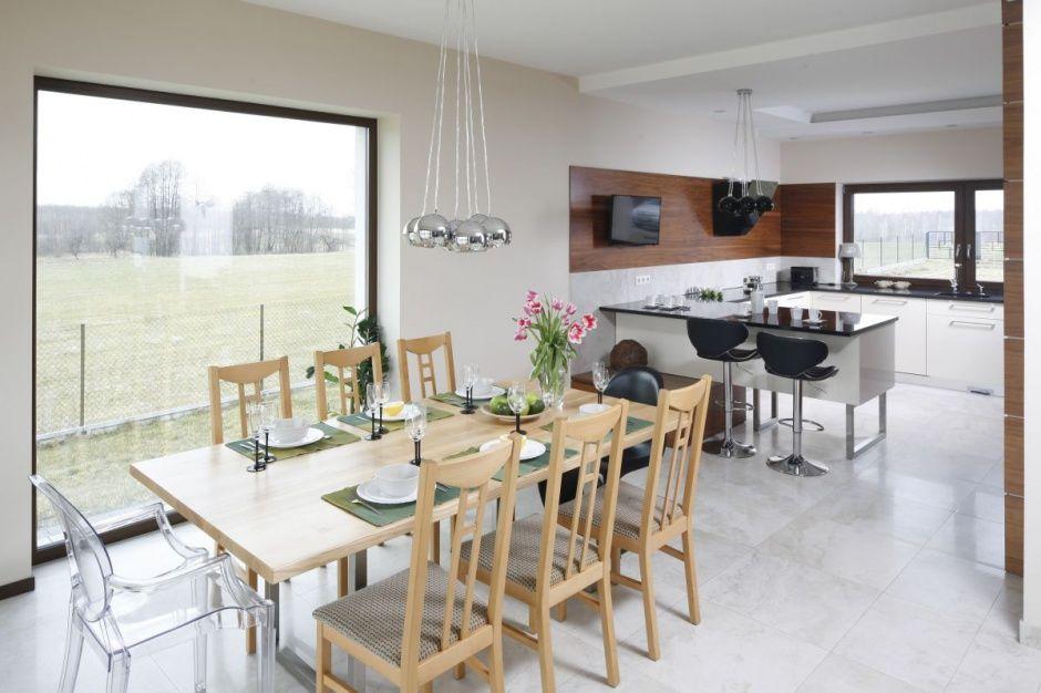 Salon Z Kuchnia I Jadalnia 30 Pieknych Wnetrz Zdjecie Numer 3 Open Plan Kitchen Living Room Living Room Kitchen Kitchen Living