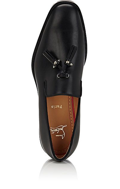 5e2164c9c749 Christian Louboutin Luglion Leather Venetian Loafers - Loafers - 505046614