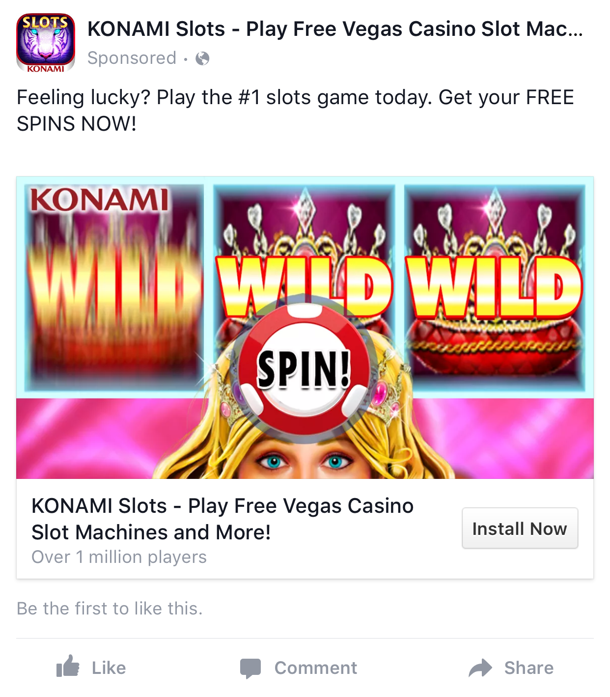 Free casino slots on facebook