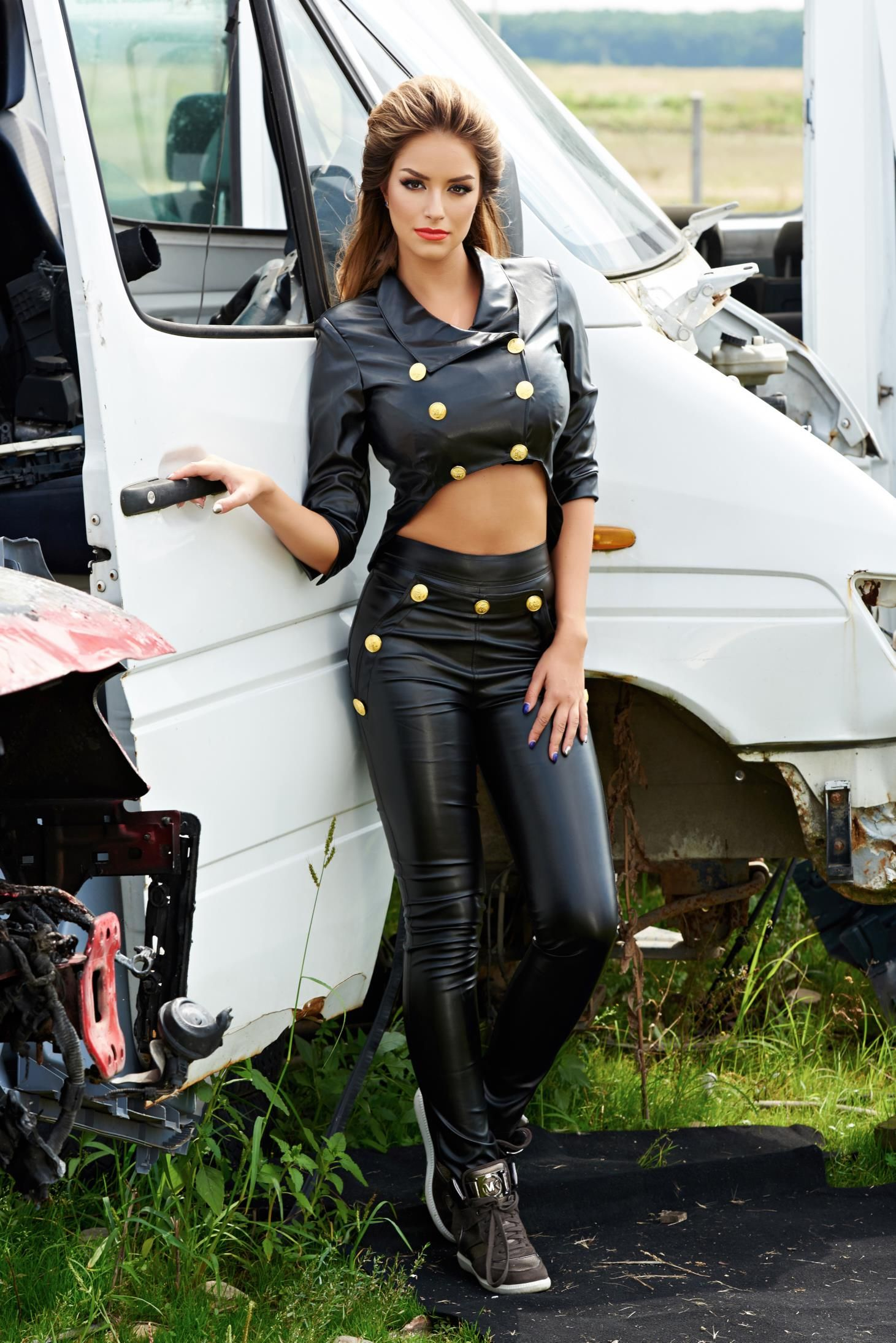 Leather Leggings Fashion