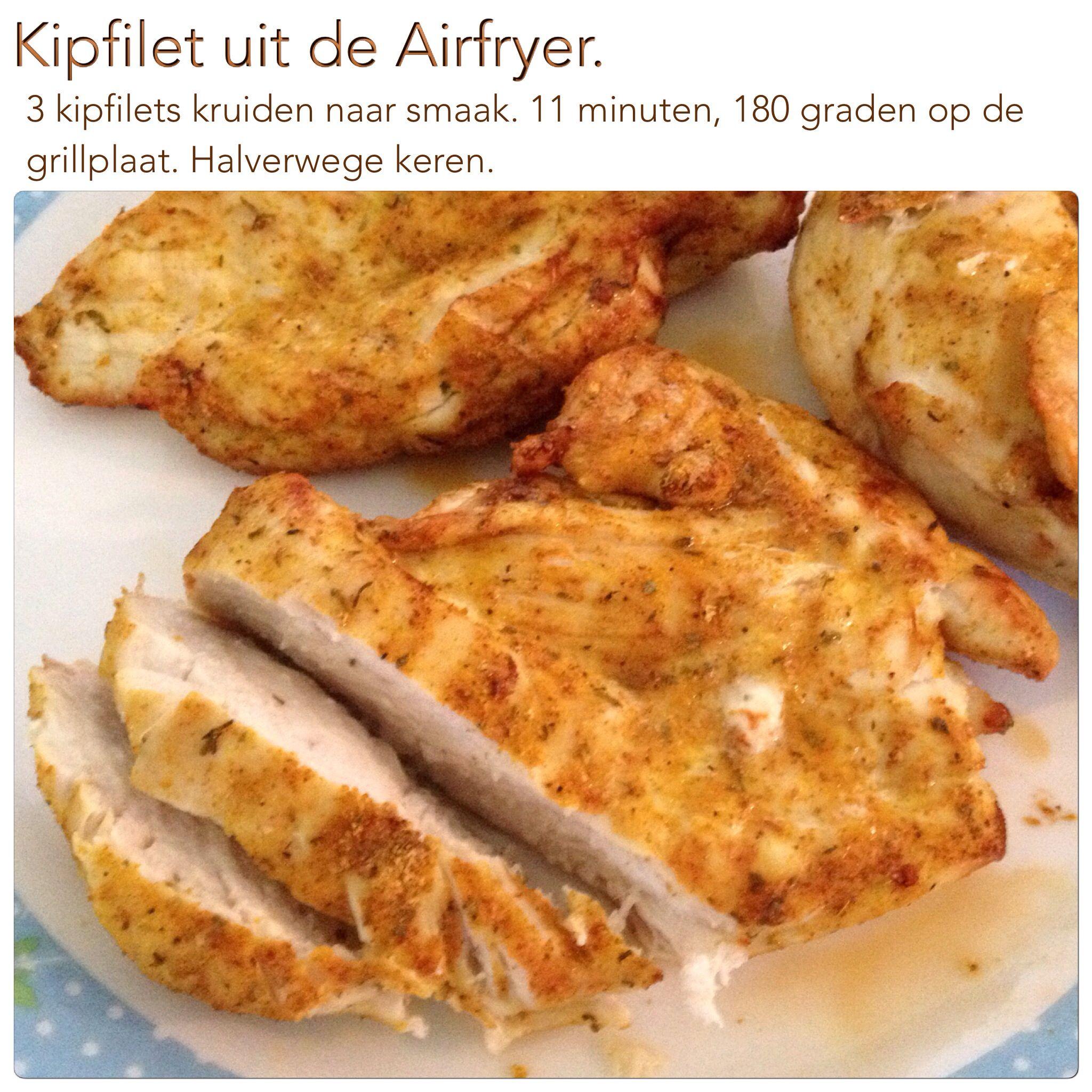 makkelijke recepten uit de airfryer
