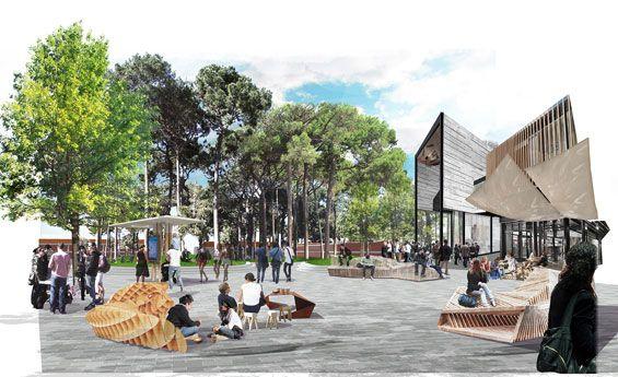Curtin University Place Activation Plan Perth Australia Place
