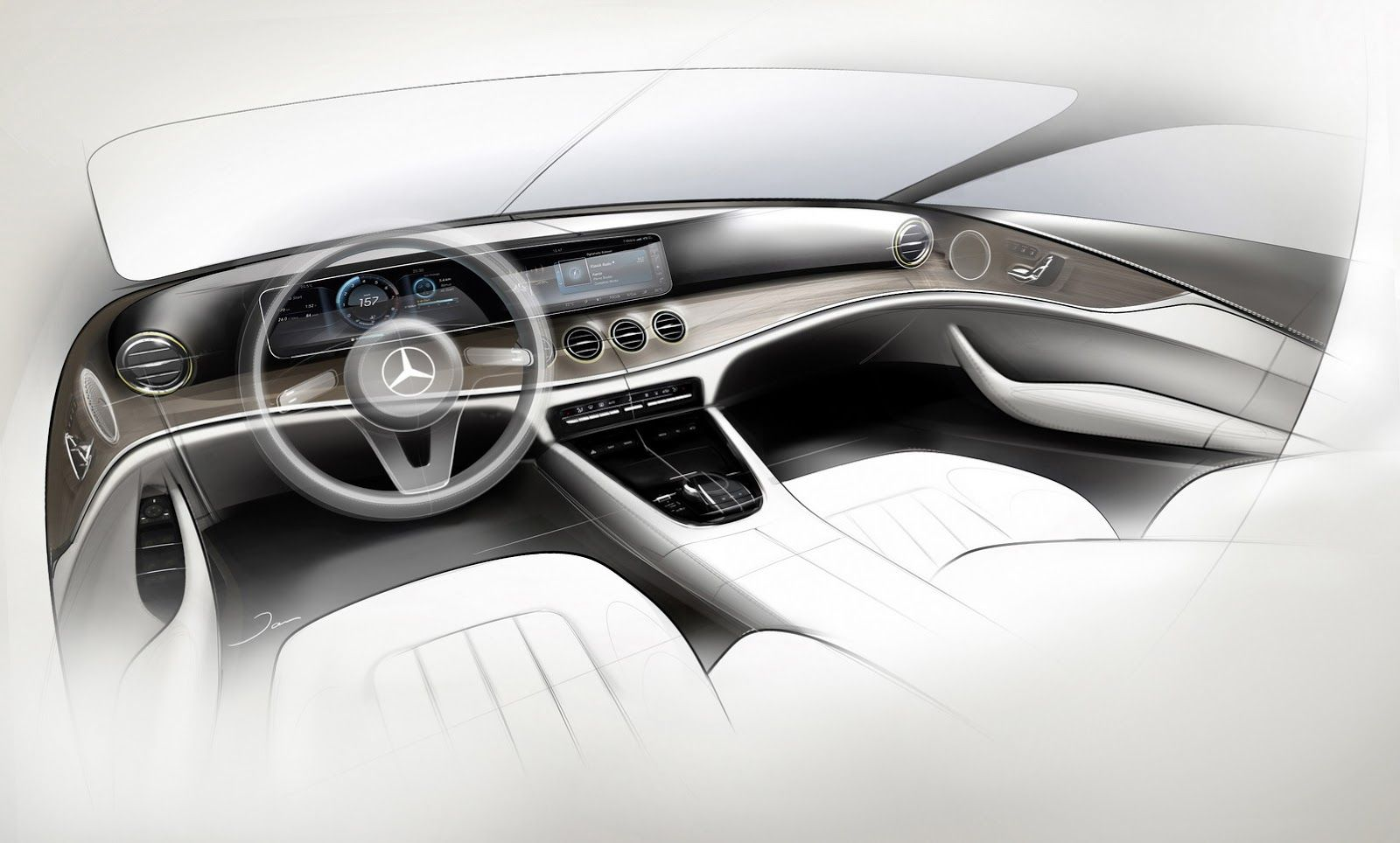 2017 Mercedes Benz E Class First Official Look At Interior 23
