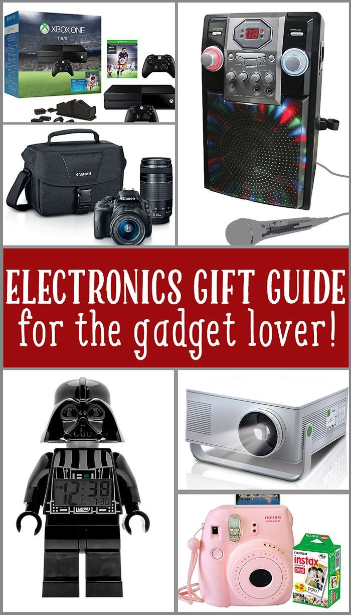 Holiday Gift Guide for the Electronic Gadget Lover! #ad #yes2tech ...