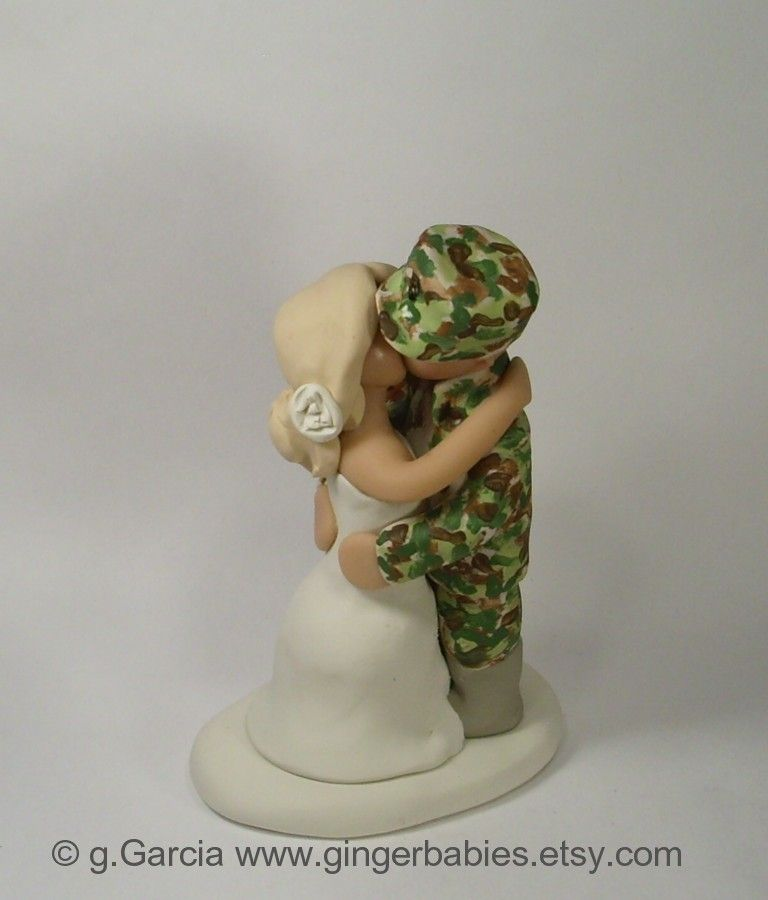 Custom Army Wedding Cake Toppers Military Www Facebook
