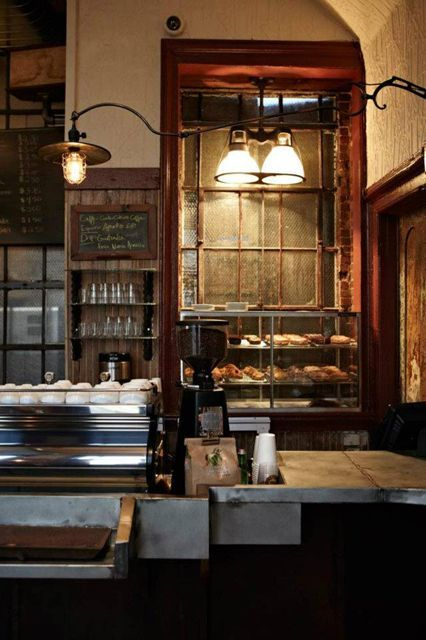 Bowery Coffee Located in a 100-year-old building previously owned by the Astors, this coffee shop aims to honor the long and colorful history of the Lower East Side. Every item in the place is an antique, from the decor to the machines. Enter through the arced sign out front and discover delicious coffee and doughnuts from Doughnut Plant.Bowery Coffee, 89 East Houston Street (at Bowery); 212-966-5162. #refinery29 http://www.refinery29.com/nyc-best-coffee-shops#slide-4