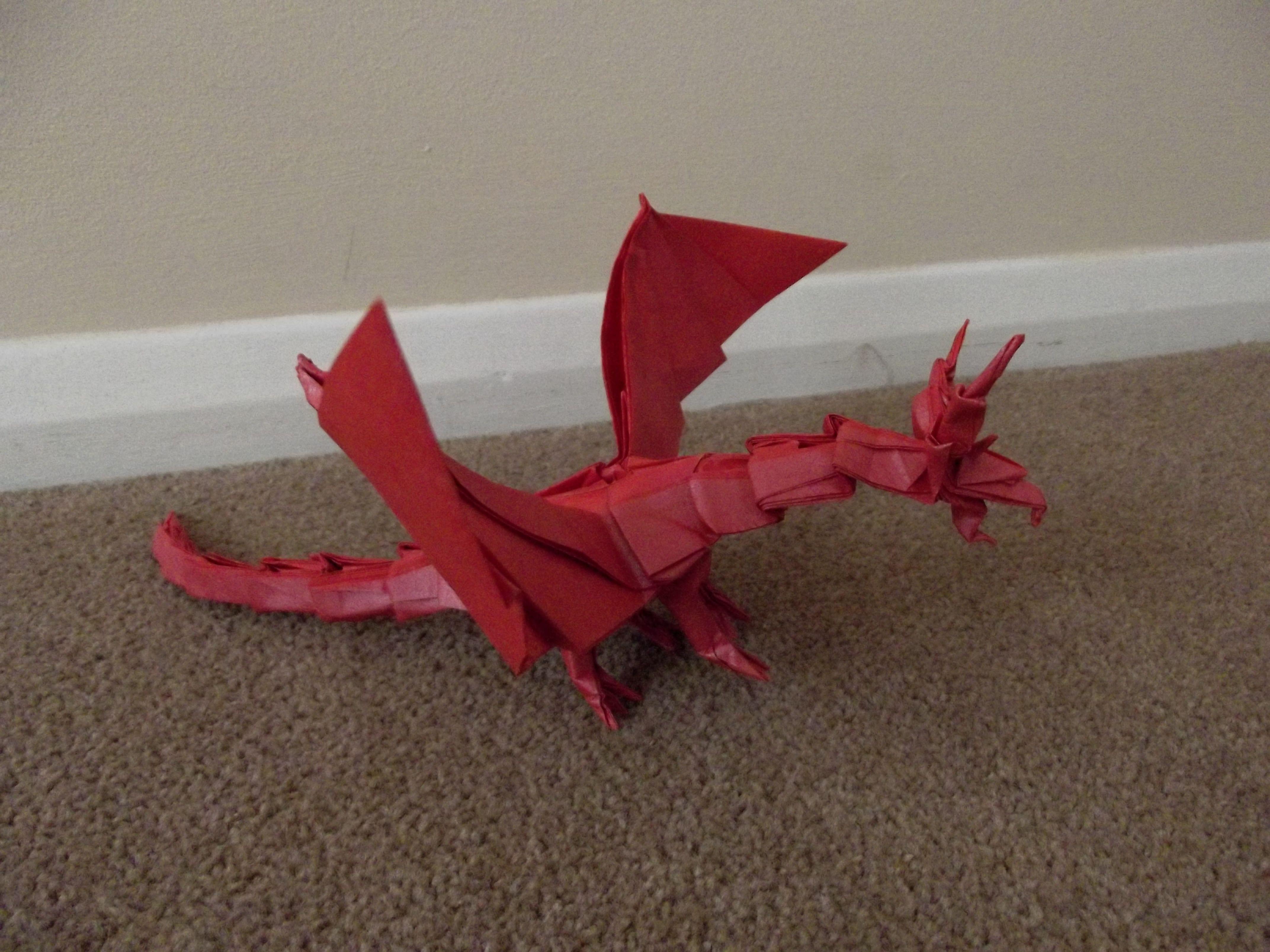 Dragon Decor Outdoor Decor Origami