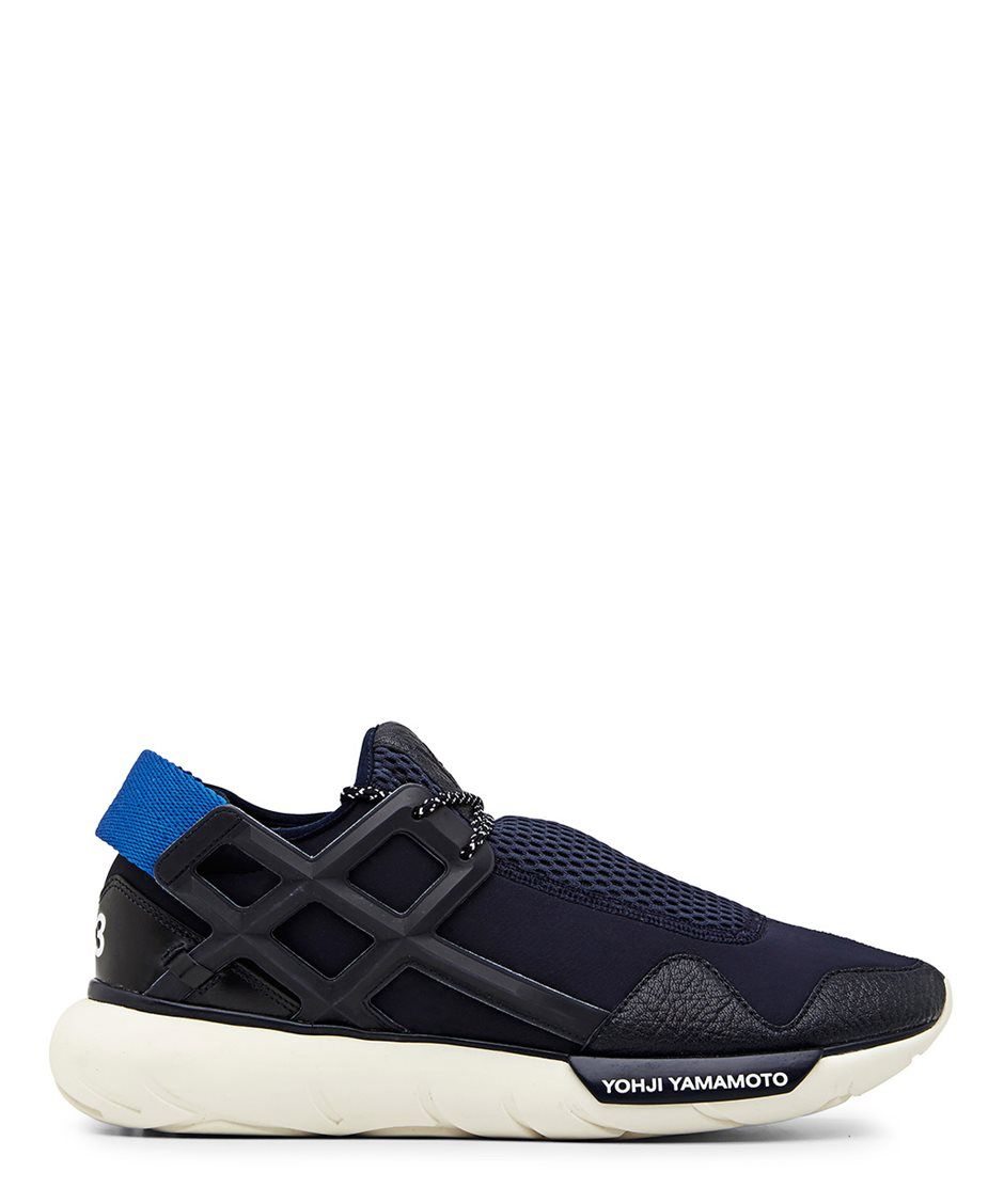 Y-3 Qasa Racer Blue Low Top Sneaker - Sneakerboy