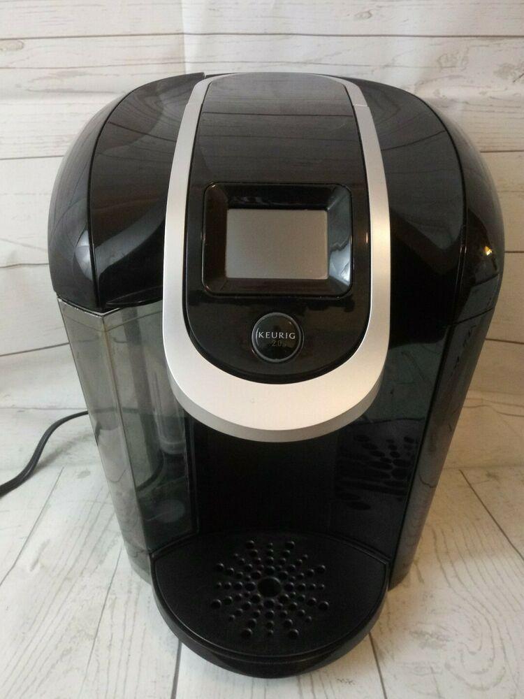 Keurig 20 300 brewing system coffee maker black parts
