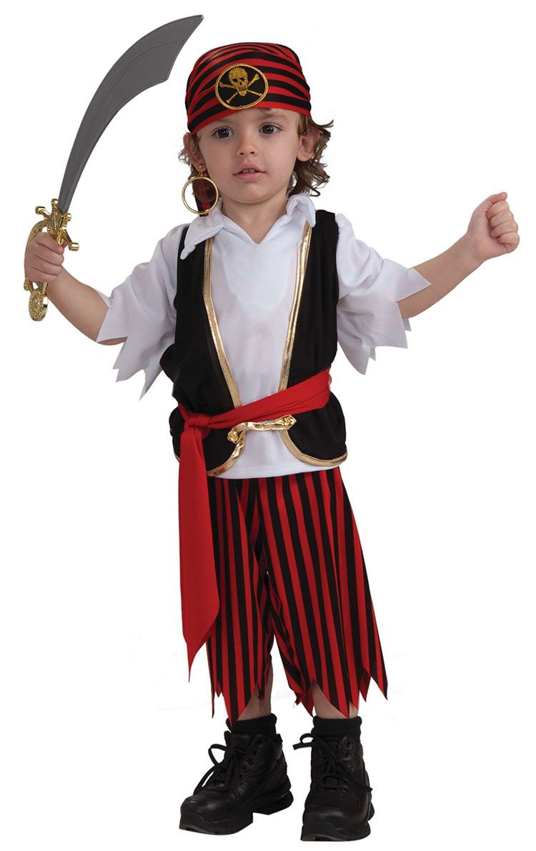 toddler boy halloween costumes toddler lil pirate boy costume pirate costumes - Pictures Of Halloween Costumes For Toddlers