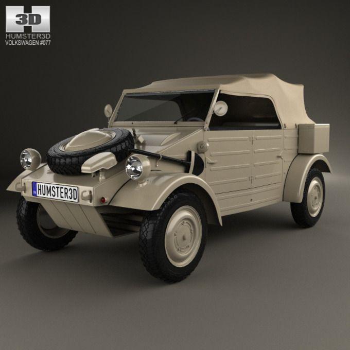 Volkswagen Kubelwagen 1945 by humster3d on Creative Market