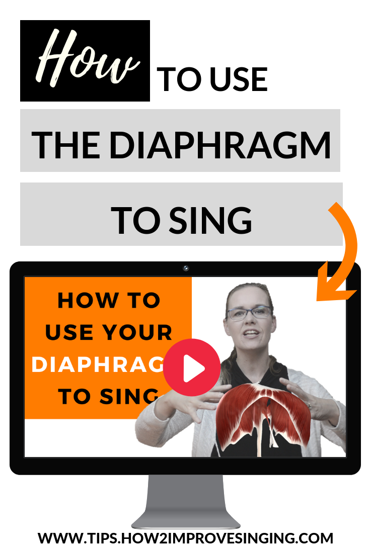Find out how to use your diaphragm properly when singing