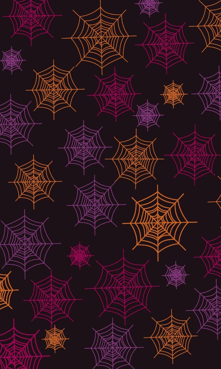 Spinnennetz #halloweenbackgroundswallpapers