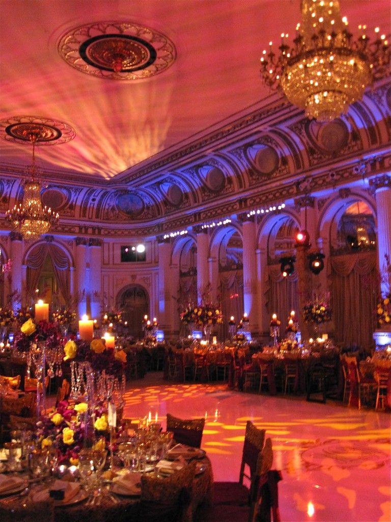 Vendor Spotlight The Plaza Hotel Wedding reception