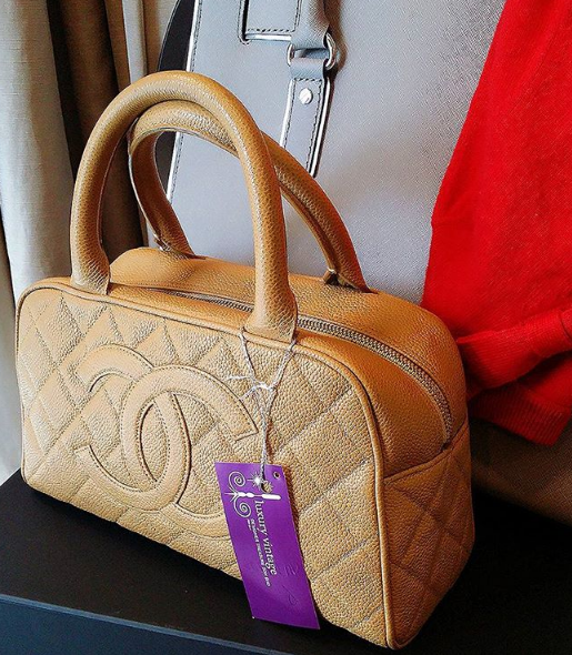 Chanel Vintage Tote Caramel Brown Caviar W Gold Hardware Condition Good Rm 5990 1200 1300 1400 L27 23 H15 5 Chanel Dubai Chanel Collection Vintage Chanel