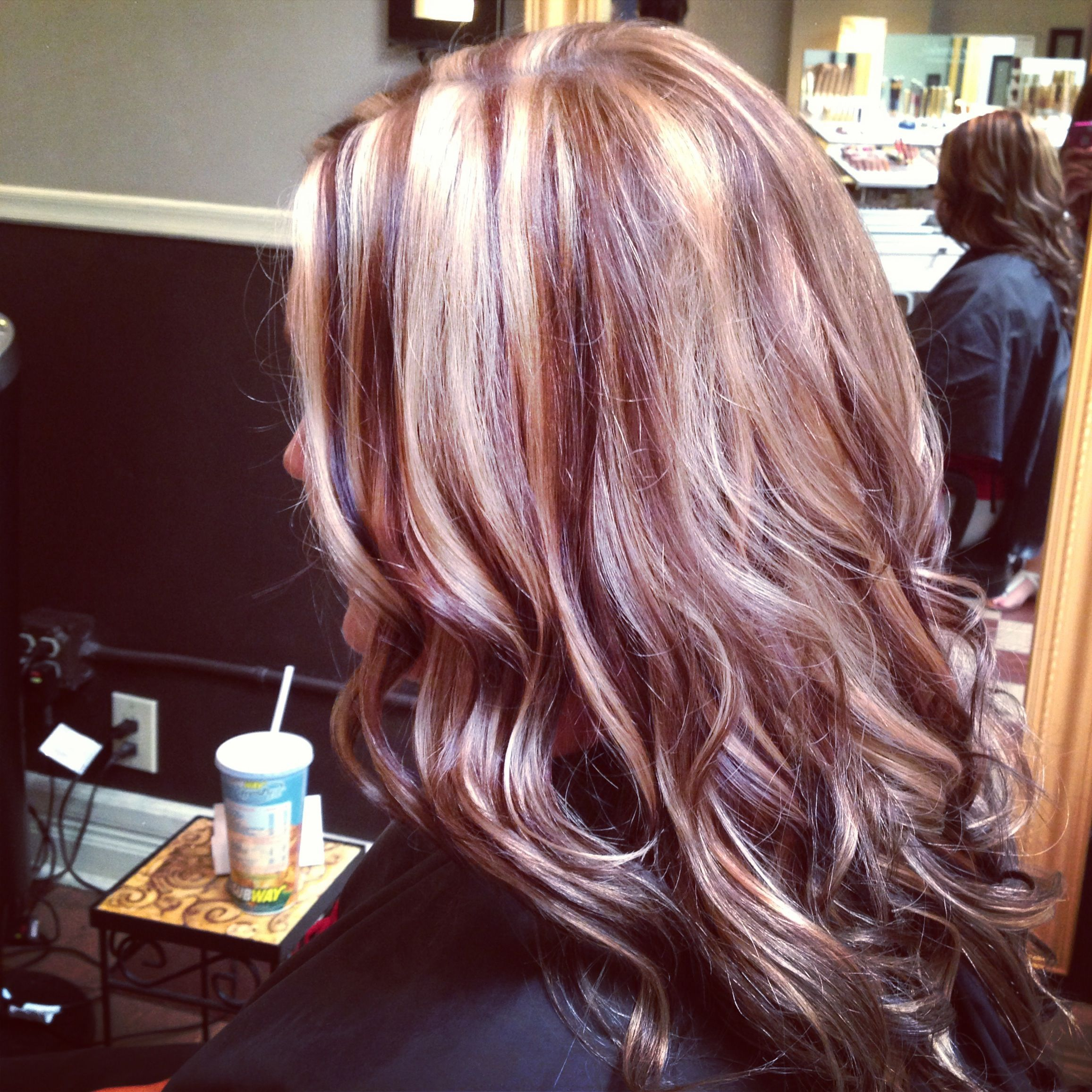 Full of dimension hair. Highlights and lowlights. | My Creations ...
