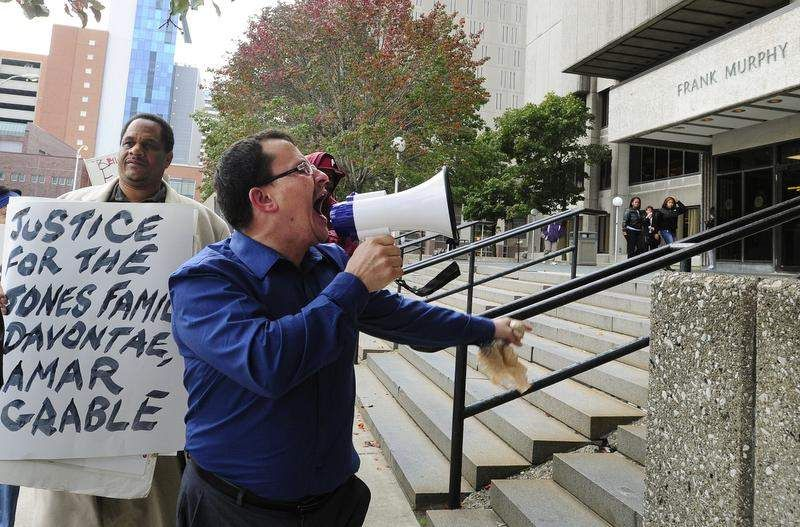 Protesters call for reforms in DPD, Wayne Co. criminal justice system