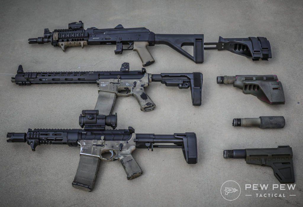 AR-15 Pistol or SBR (Short Barrel Rifle): What's Best For