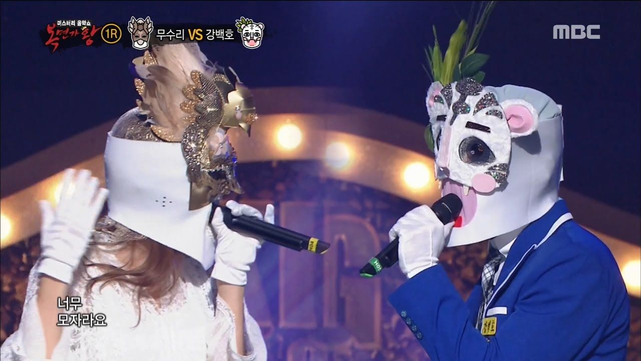 King of masked singer] 복면가왕 - adjutant bird VS Kang Baekho