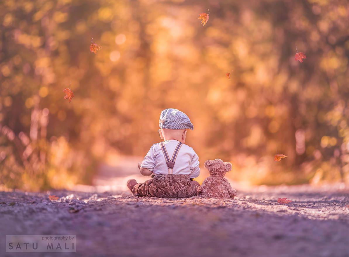 Valokuvaaja Satu Mali | Lapset&perhe#teddy #bear #baby #kids #photo #idea