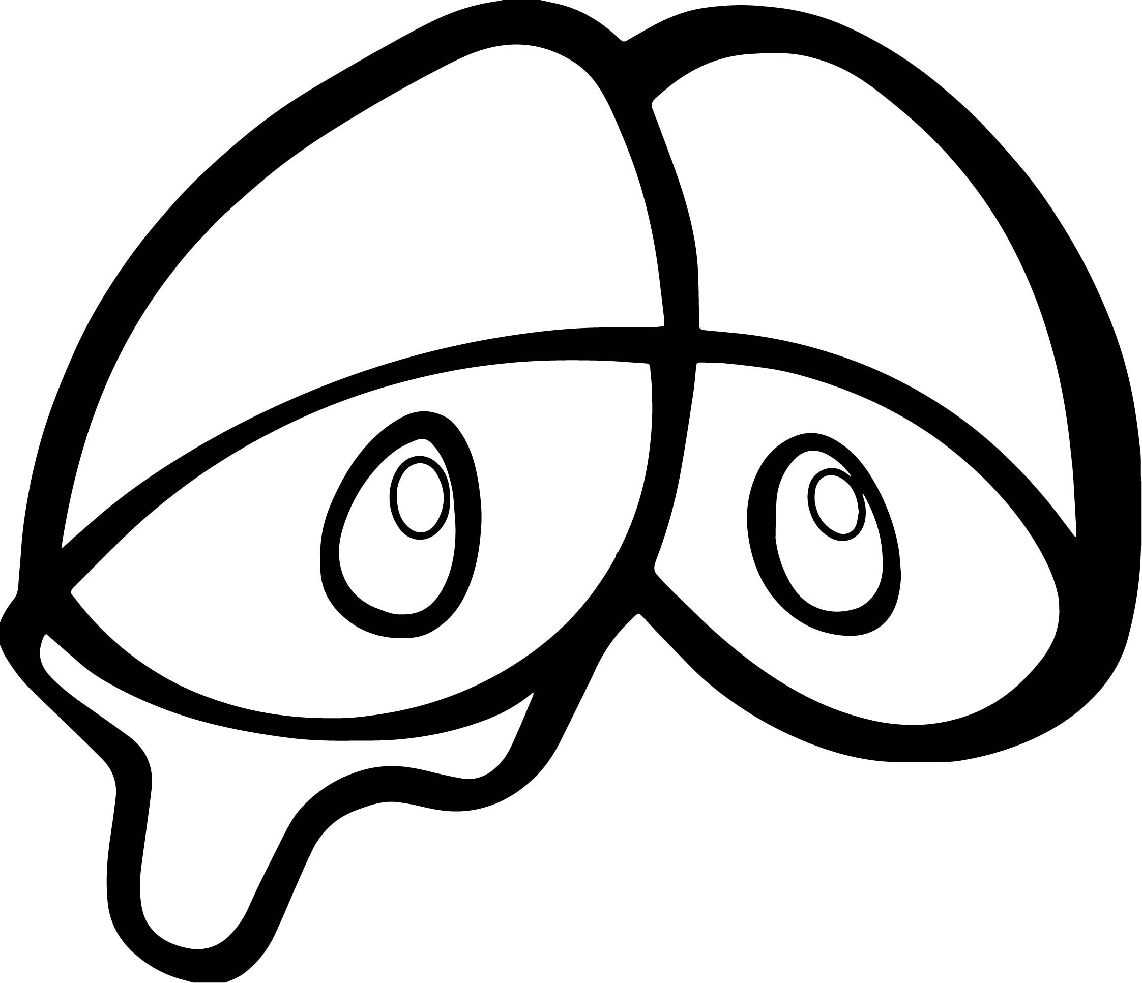 Awesome Cry Eye Coloring Page Cartoon Coloring Pages Emoji