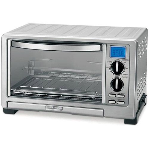 George Foreman Infrared Countertop Oven With Rotisserie Up To 5lb