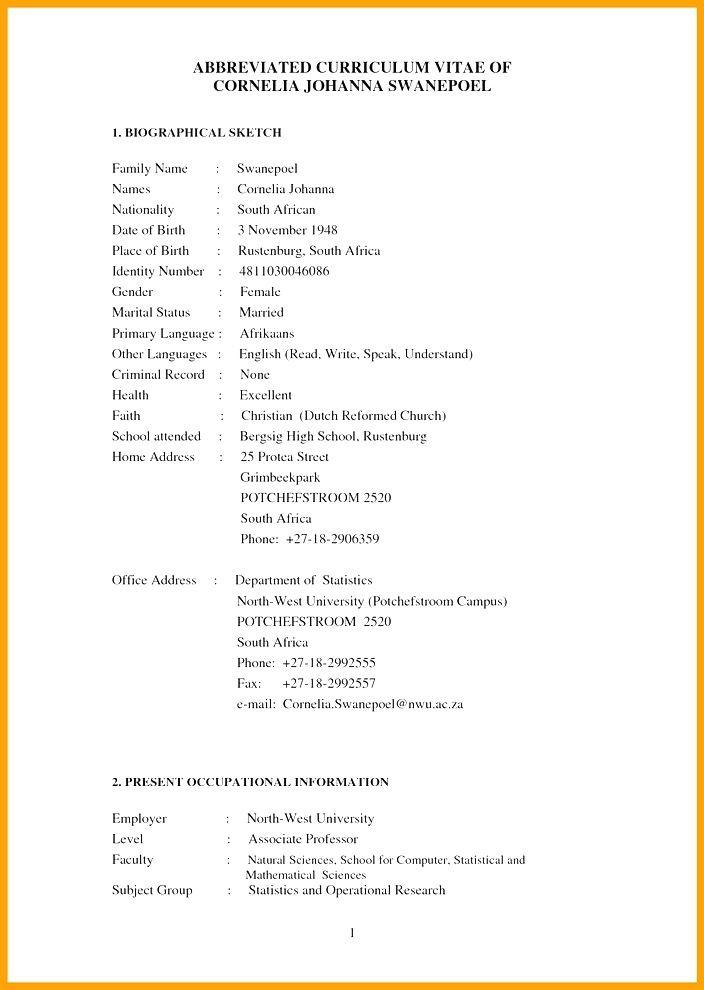 Cv Template Za Cv Template Templates Resume Examples