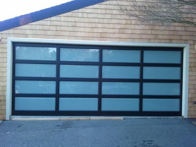 Modern Contemporary Garage Door Design And Installation Madden Door Sf Bay Area Concord Walnut Cree Garage Doors Modern Garage Residential Garage Doors