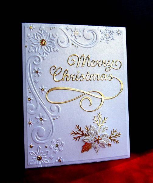 Snowflake Corner 4.25x5.75 Darice Embossing Folder Winter Christmas 1218-117