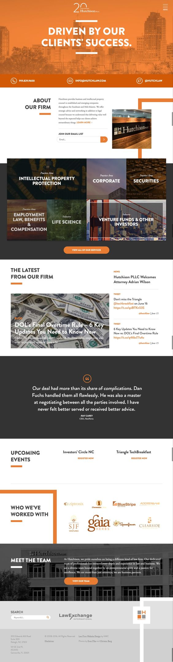 Get A Law Firm Website Like This At Allyone Web Design Ecommerce Website Design Website Design Inspiration Law Firm Website